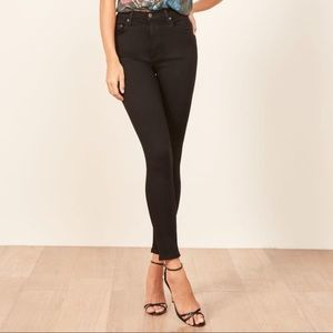 Reformation High and Skinny Jean